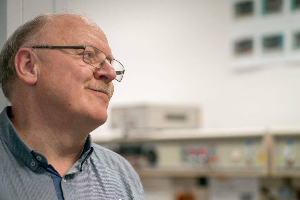 """Lutz Hofmann lebt die Idee des """"Agile Campus"""" bei Continental."""