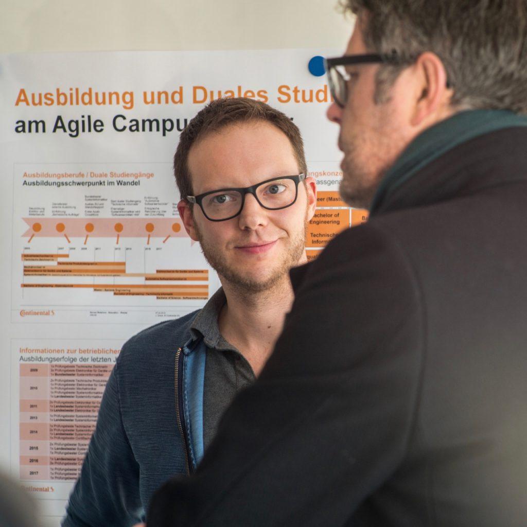"""Auch Stefan Henß ist ein Vordenker zum Thema """"Agile Campus""""."""