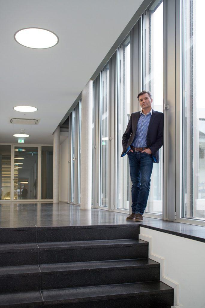 Für Geschäftsführer Thomas Breser heißt Wachstum, in immer kleineren Dimensionen zu denken.