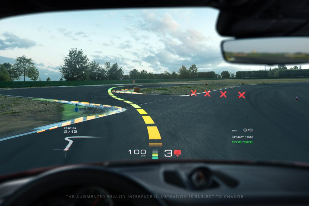Augmented Reality als HUD in einem Auto